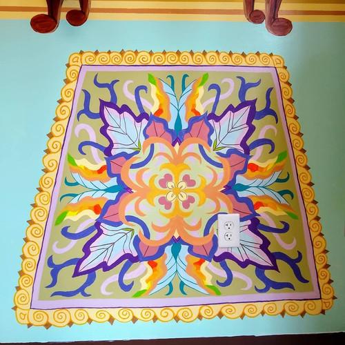 Mandal Rug Mural