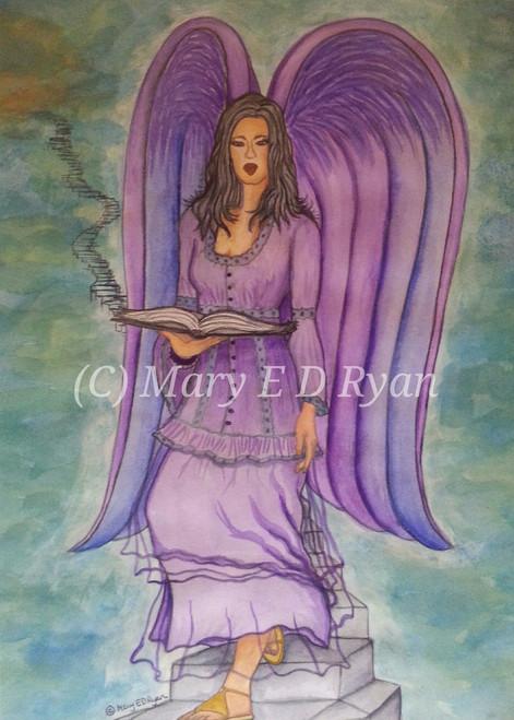 Watercolor Archangel Muriel