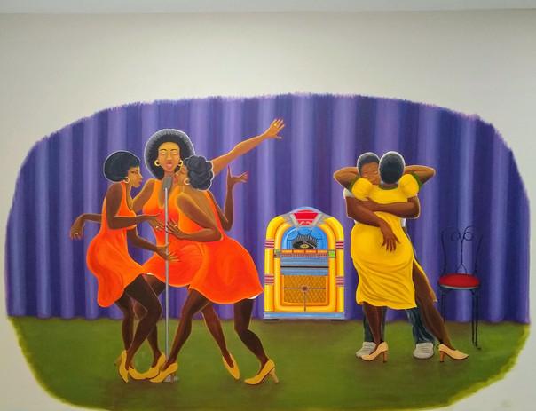 Jukebox Joint Mural