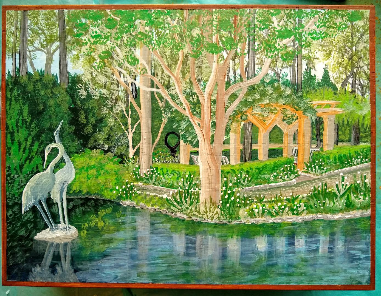 The White Garden Art Box