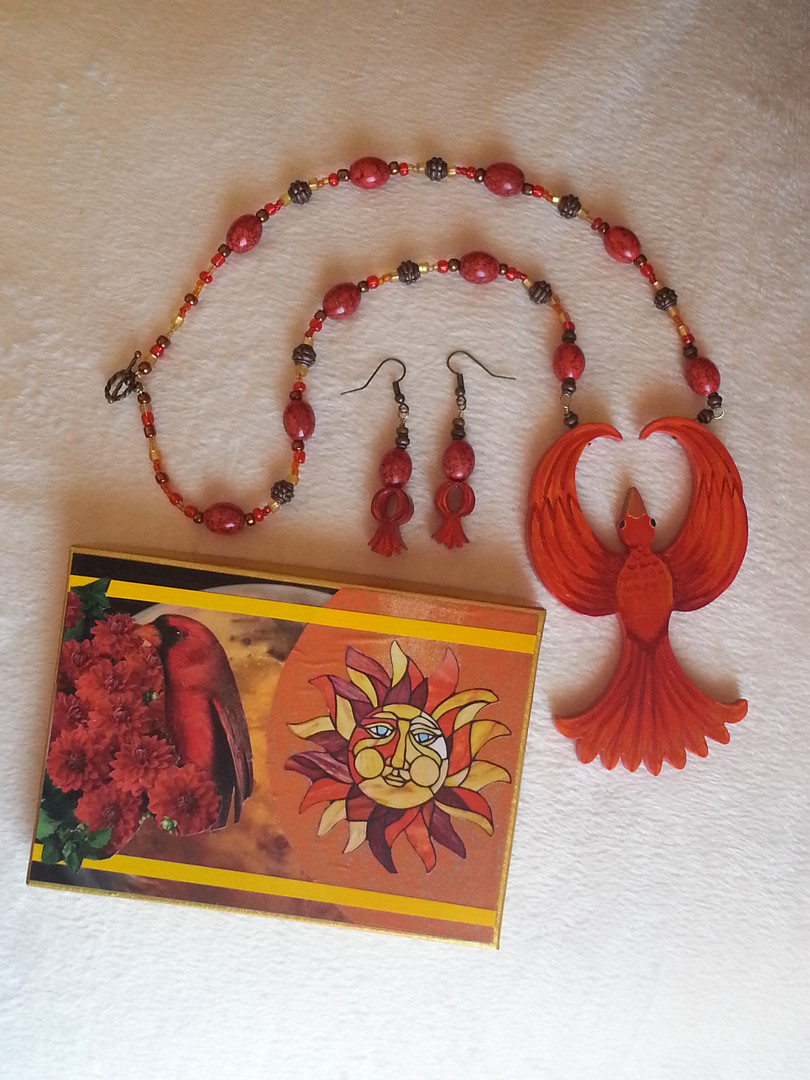 Rise of the Phoenix Jewelry Set