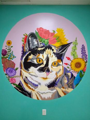 Pandora, Cat Mural