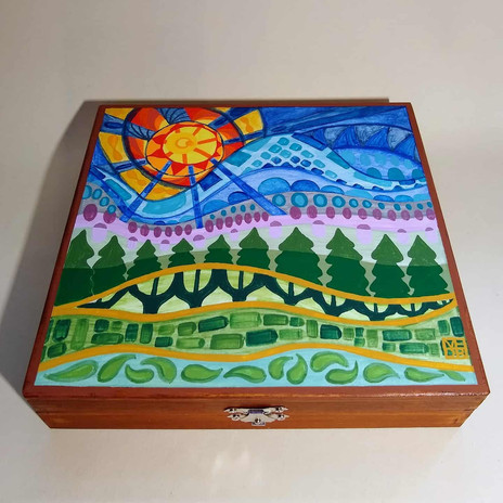 All Over This Land Art Box