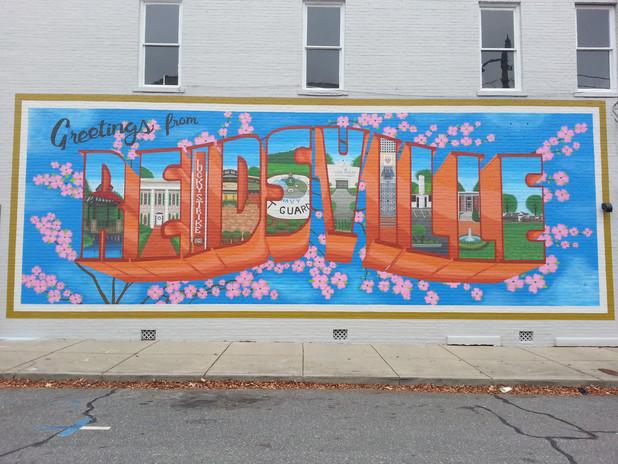 Greetings From Reidsville Mural