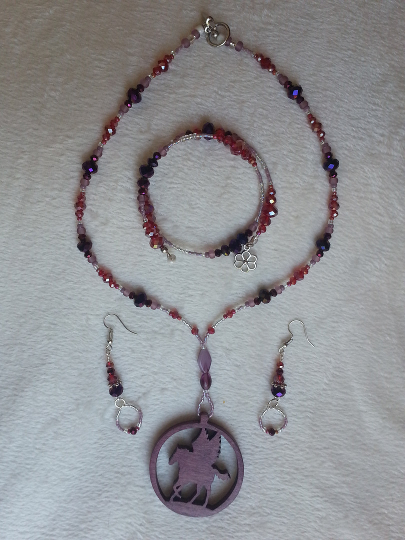 Passion for Pegasus Jewelry Set