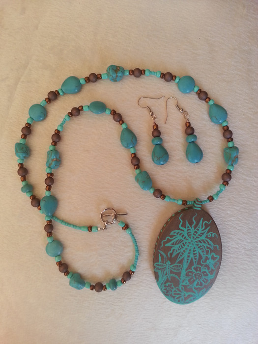 Garden of Aquarius Jewelry Set