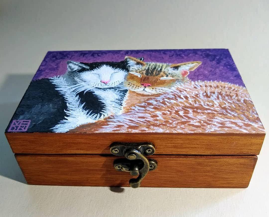 Purrfect Love Art Box