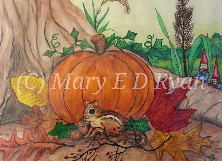 Autumn Chipmunk