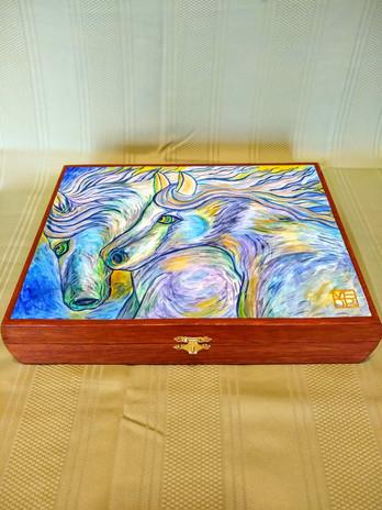 Wild Horses Art Box