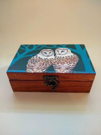 Night Owls Art box