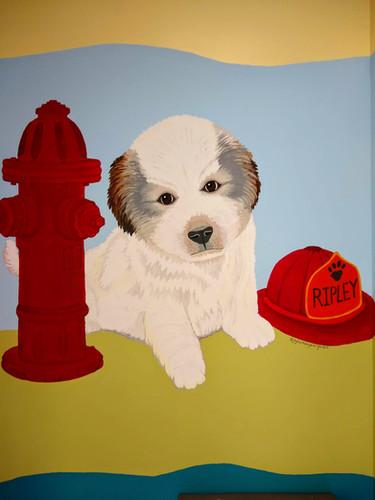 Ripley, Puppy Mural