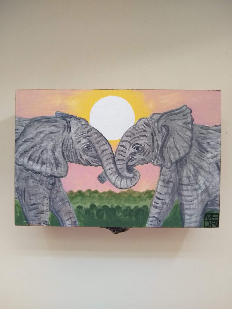 Summer Love Art Box