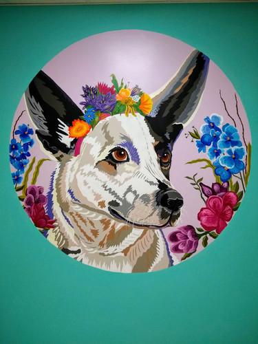 Harper, Dog Mural