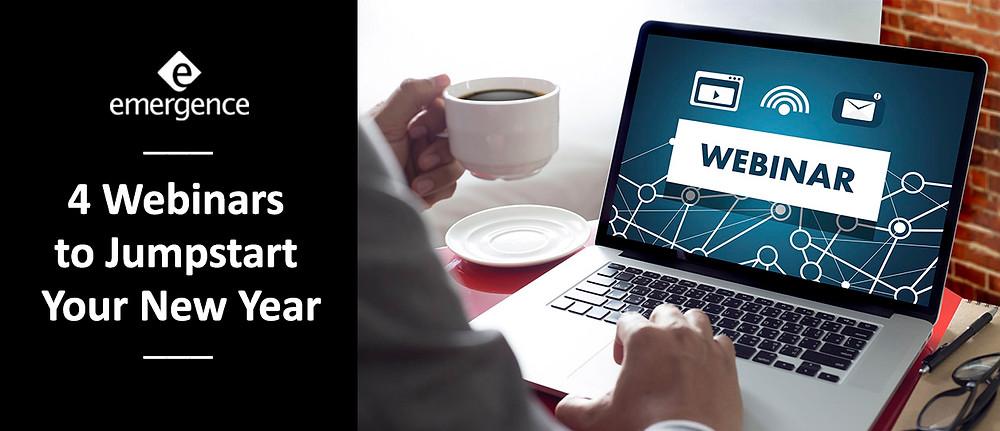 4 Webinars to Jumpstart Your New Year