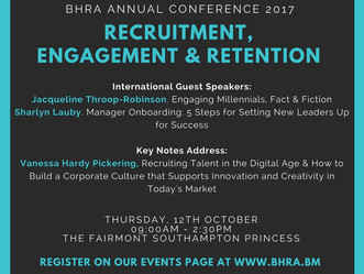 Join Us at the BHRA Annual Conference 2017 - October 12, 2017