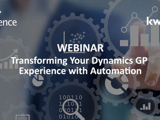 ON-DEMAND WEBINAR: Transforming Your Dynamics GP Experience with Automation