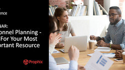 WEBINAR - Personnel Planning : Plan For Your Most Important Resource