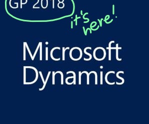 WEBINAR: What's New in Microsoft Dynamics GP 2018 - recording now available!