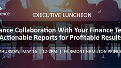 EXECUTIVE LUNCHEON: Actionable Reports for Profitable Results