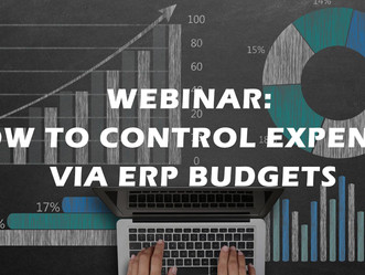 HOW TO CONTROL EXPENSES VIA ERP BUDGETS
