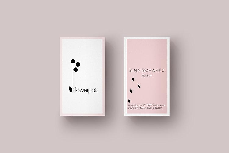 Flowerpot Business Cards