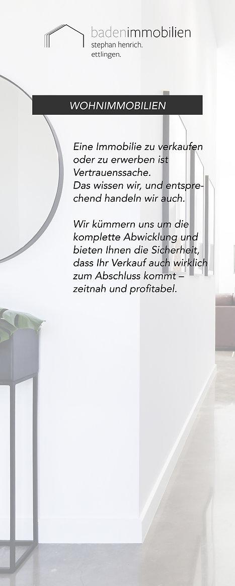 Messetafel Baden Immobilien