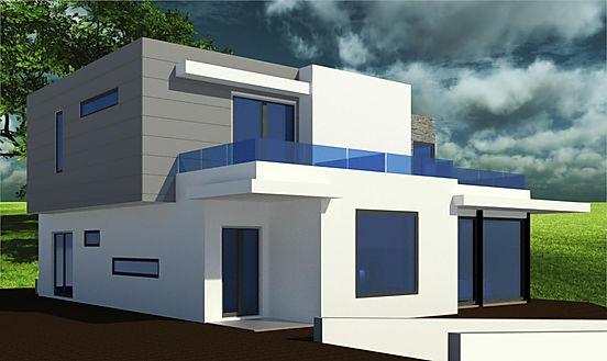 Projeto Arquitetura - Casa - 3D - Novo