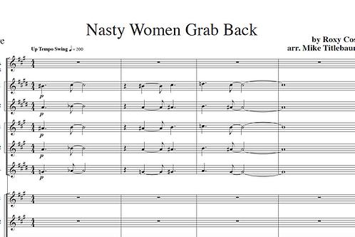 Nasty Women Grab Back Big Band Arrangement