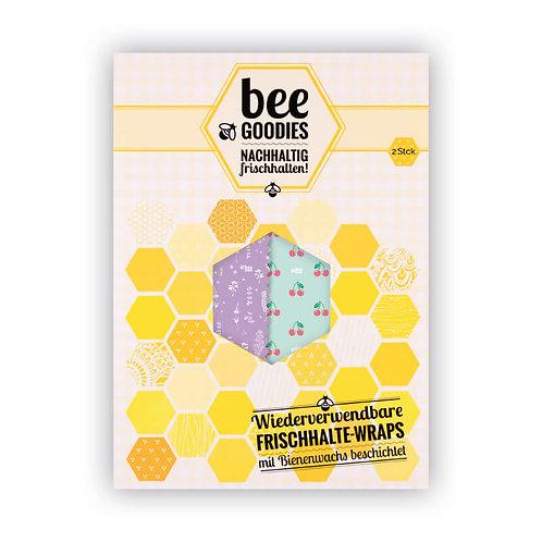Bee Goodies - Frischhalte Wraps 2er PACK