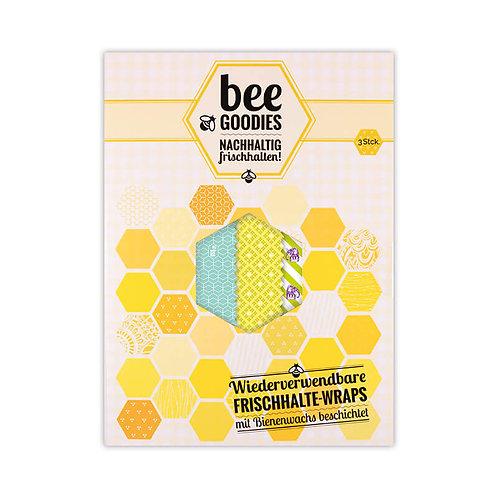 Bee Goodies - Frischhalte Wraps 3er PACK