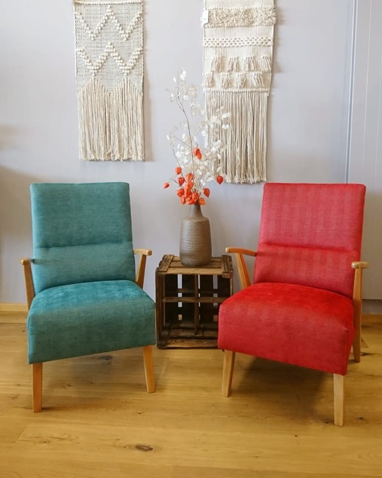 Vintage Lounge Chairs