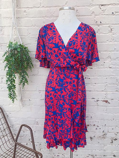 NWT Jessica Simpson Faux Wrap Dress