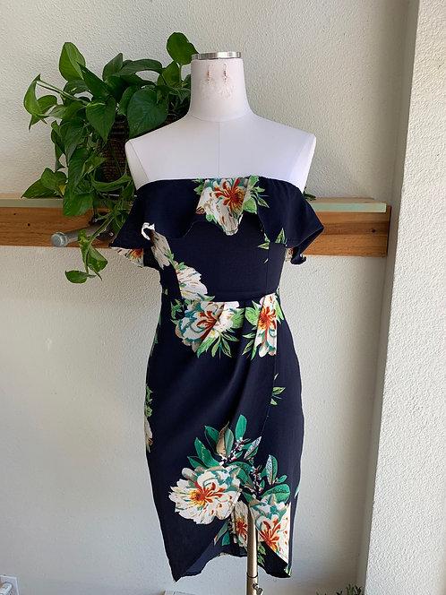 Cold Shoulder Spring Dress
