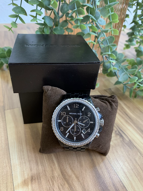 Michael Kors Black Diamond Watch