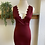 Thumbnail: Scalloped Rouge Dress