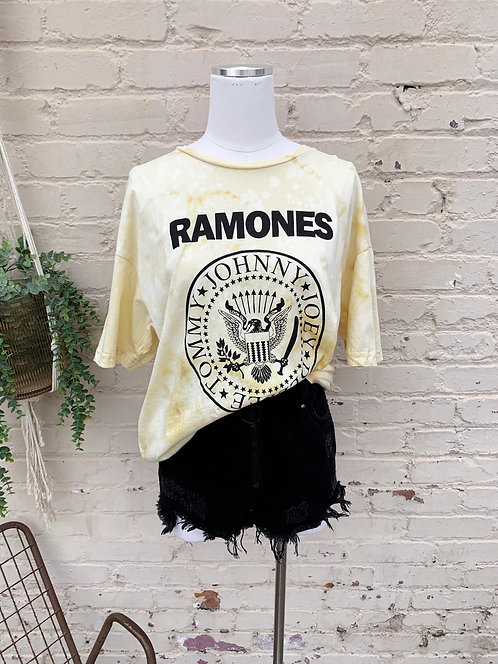 "Ramones Band Tee ""Sun """