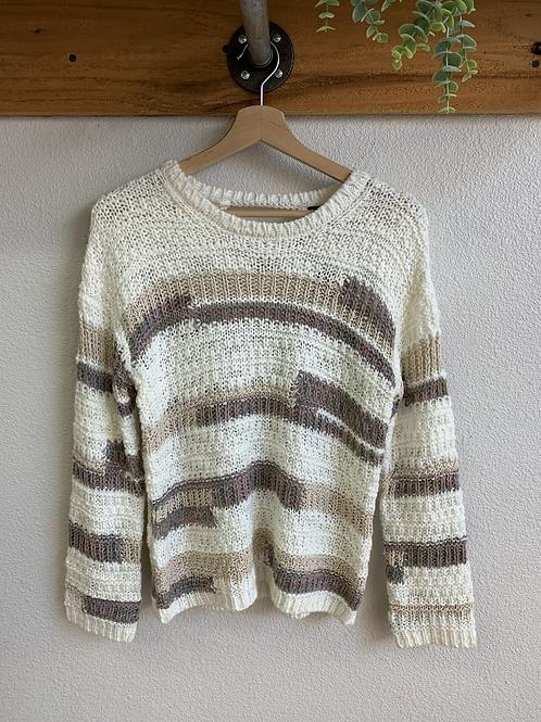 New Multi Neutral Sweater