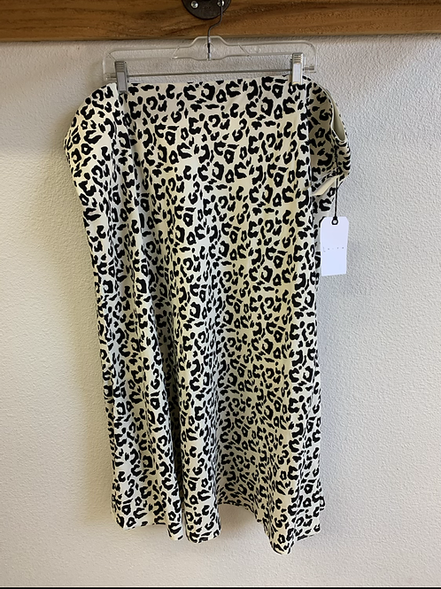 NWT Leith Animal Print Skirt