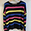 Thumbnail: NWT Colorful Striped Sweater