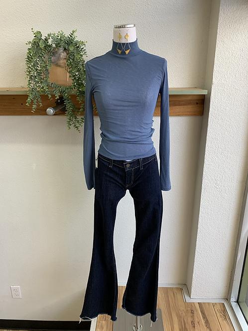 Textile Flare Jeans by Elizabeth & James