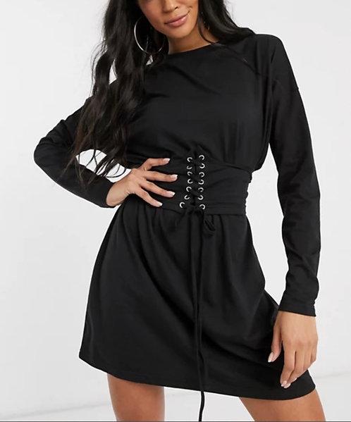 NWT BOOHOO Corset Dress