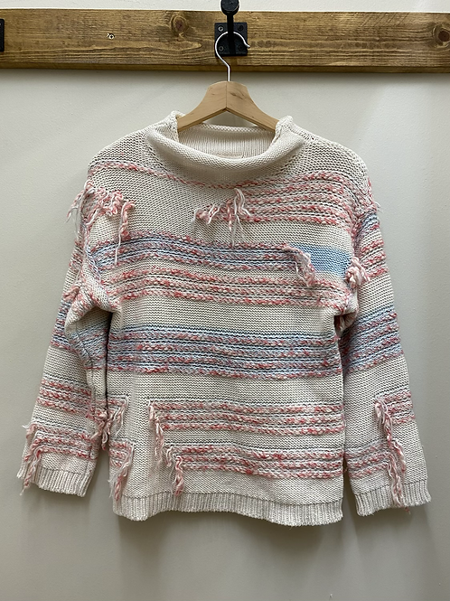 Lou & Grey Fringe Sweater
