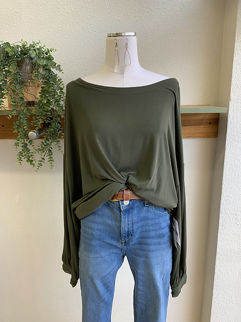 NWT Free People Drop Back Top