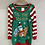 Thumbnail: Tis' the Sea-Sun Snorkling Santa Christmas Sweater Dress