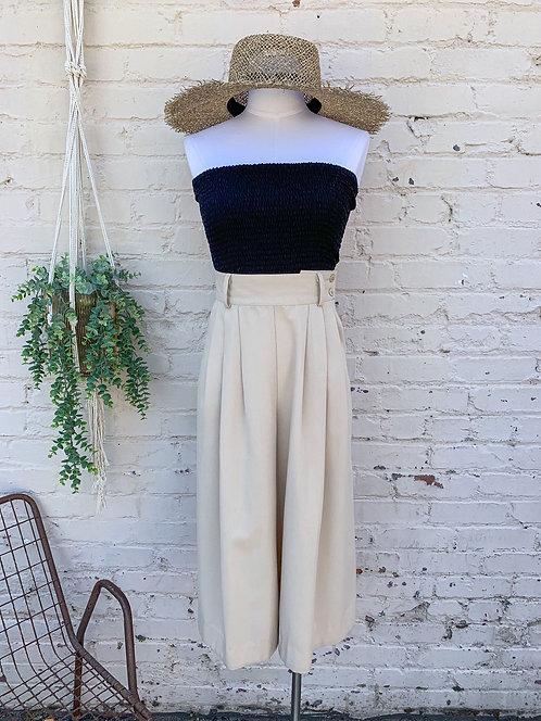Vintage Joan Walters Neutral Culottes
