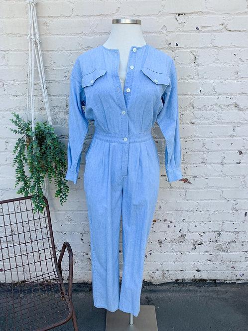 Vintage Eddie Bauer Cotton Jumpsuit