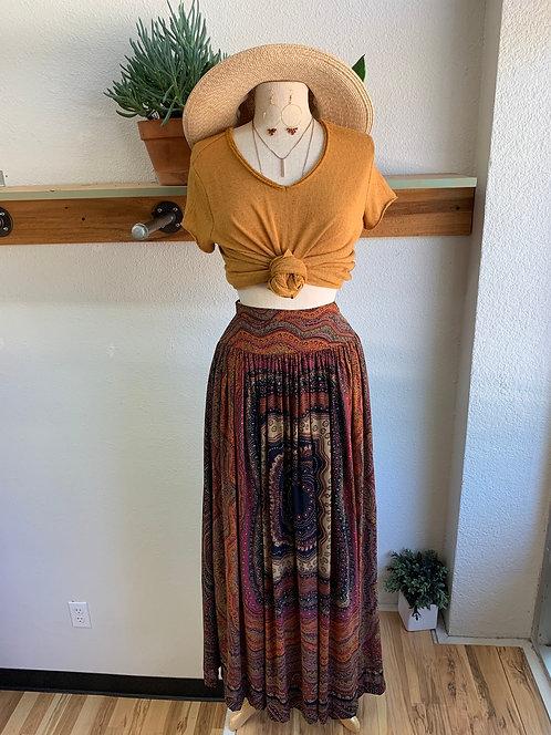 Vintage HighWaist Skirt