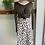 Thumbnail: New T. Tahari Ink Dot Midi Skirt