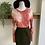 Thumbnail: Vintage DKNY Forest Green Mini Skirt