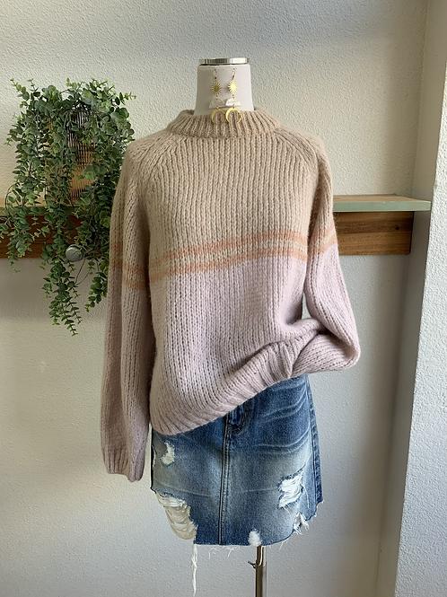 Designer Xirene Color-block Sweater